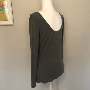 Long Sleeve scoop back